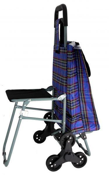 сумка тележка со стульчиком вас
