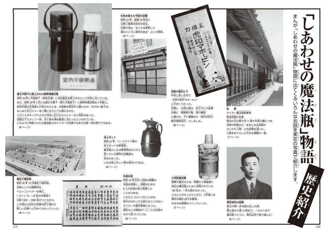 История Tiger Corporation. Источник: www.tiger.jp