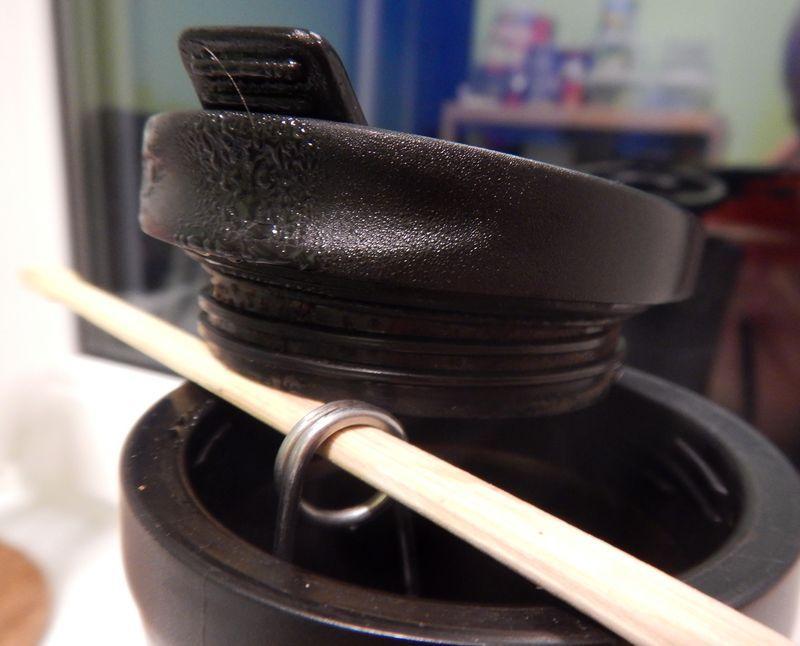 Пример как выкрутиться с заваркой чая в термокружке