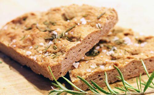 Итальянский хлеб - фокачча идеален для мини-печи