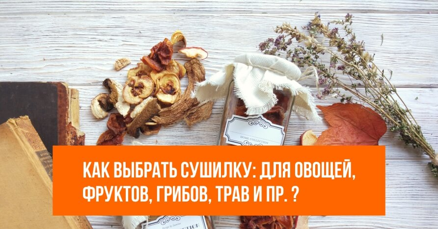 Как выбрать сушилку для грибов, овощей и фруктов - Photo by Lumitar on Unsplash