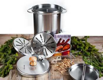 Коптильни для горячего копчения рыбы, мяса, овощей