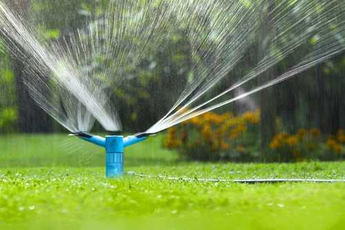 Пример дождевателя-оросителя