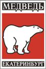 Логотип производства раскладушек для рыбалки Медведь