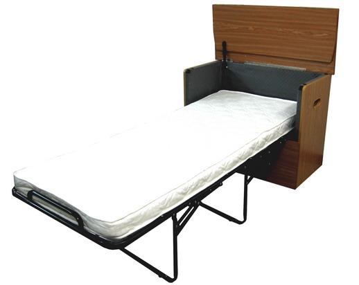 Раскладная кровать в тумбе