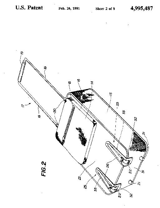 Запатентованная технология выдвижной ручки и колес